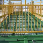 Woven wire floor for water run-through | Livestock Trailer